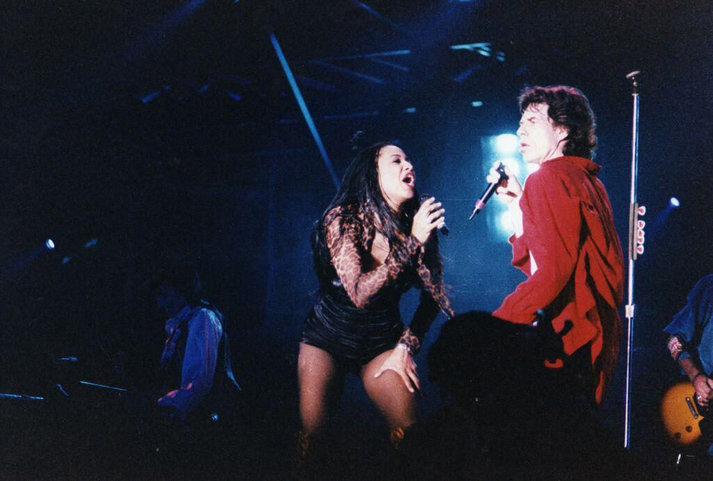 Lisa Fisher & Mick Jagger